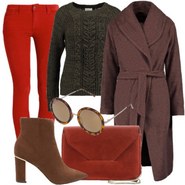 Outfit Pantaloni colorati