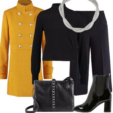Outfit Un cappotto solare