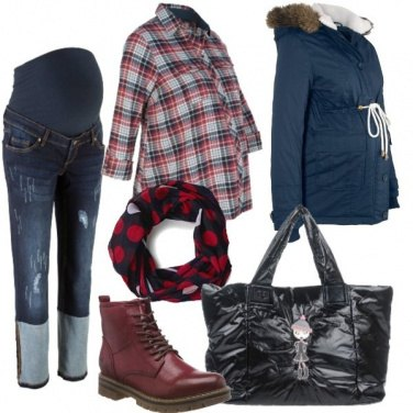 Outfit Shopping pre-Natale