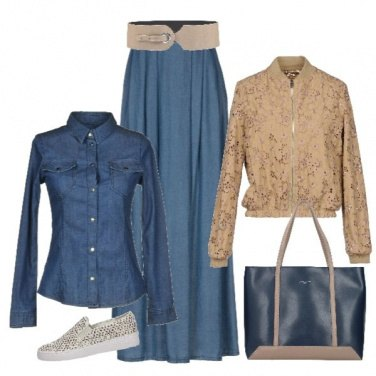 Outfit Jeans protagonista