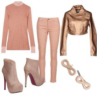 Outfit Rosato