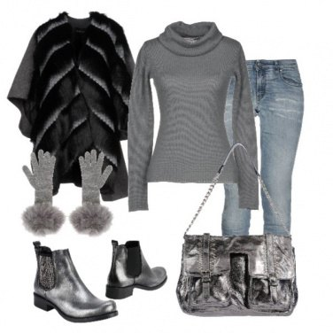 Outfit Basic Total grey2