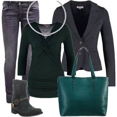 Outfit Casual in giacca