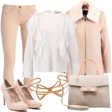 Outfit Ruches e fiocchi