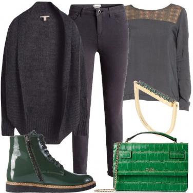 Outfit Accordi di verde