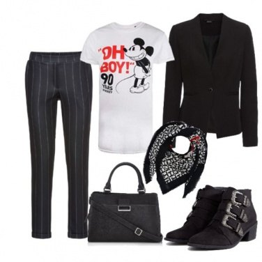 Outfit Mickey Mouse