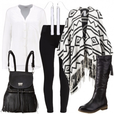 Outfit Frange e stivali