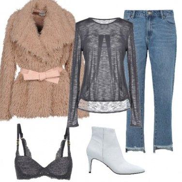 Outfit Aperitivo e stivaletto bianco
