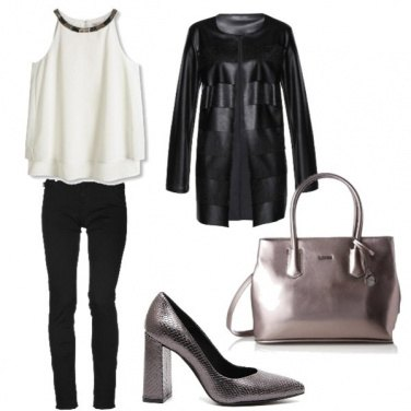 Outfit Basic & metallic