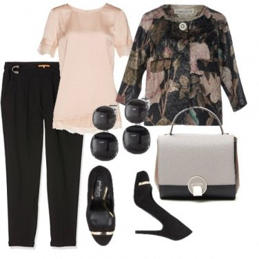 Outfit Old b2=black&beige