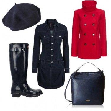 Outfit Giornata di pioggia autunnale