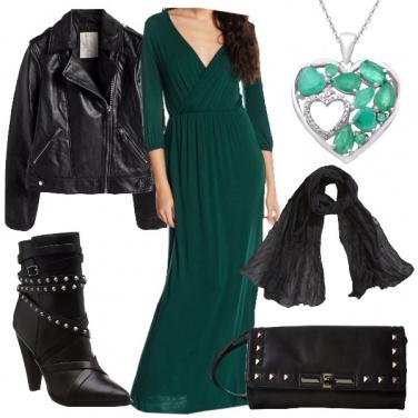 Outfit Un cuore rock