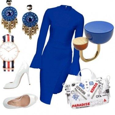 Outfit Blu royal