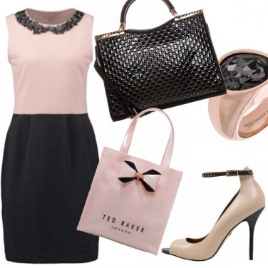 Outfit Loving nude and black