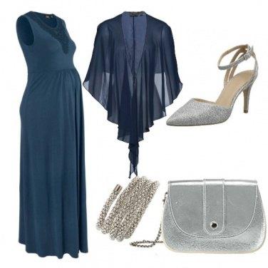 Outfit Cerimonia con il pancione!