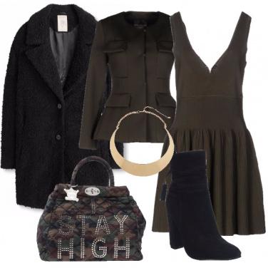 Outfit Militare con il nero