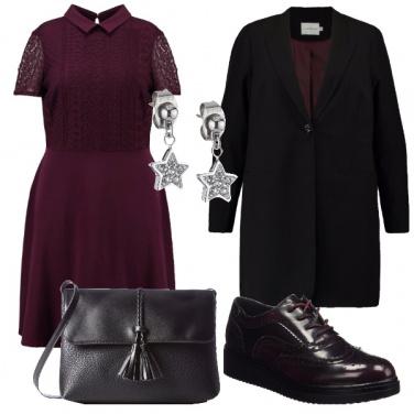 Outfit Romantica con grinta