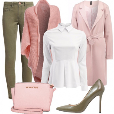 Outfit Femminilità in rosa