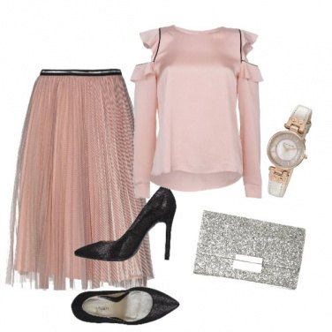 Outfit Silver metal