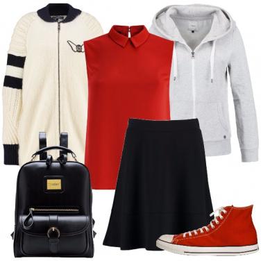Outfit In partenza per il college