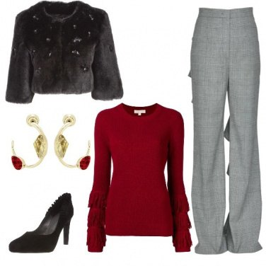 Outfit Flowing winter