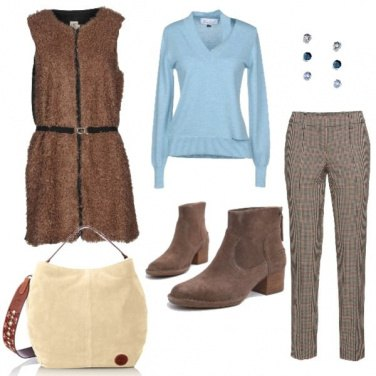 Outfit Tofly_celeste come il cielo
