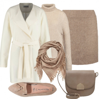 Outfit Colori neutri e comfort