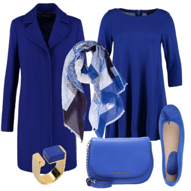 Outfit Amante del blu