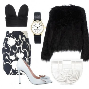 Outfit Bianco&Nero