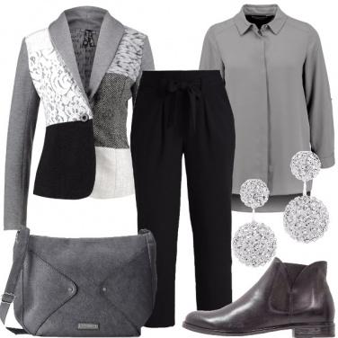 Outfit Tra il grigio e il nero