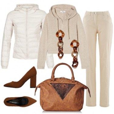 Outfit Sportiva e glam
