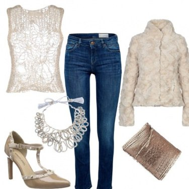 Outfit Jeans non solo