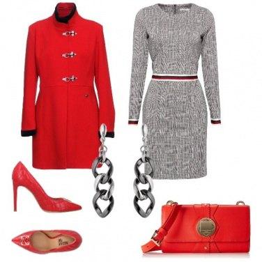 Outfit Rosso, per non passare inosservata