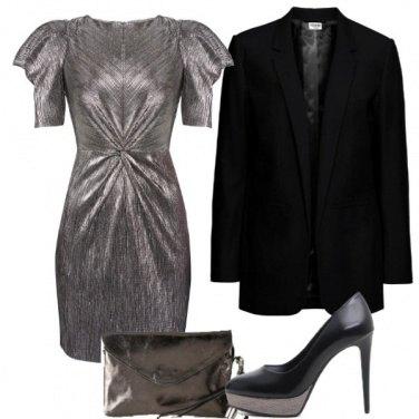 Outfit Metallizzato 80