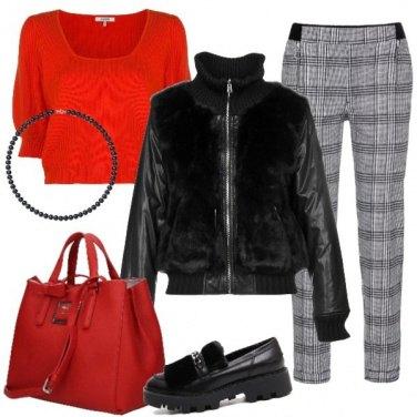 Outfit Accenti di colore