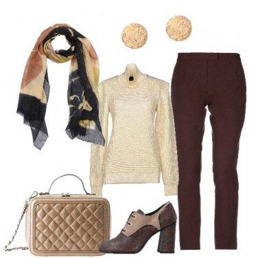 Outfit Uno splendido foulard