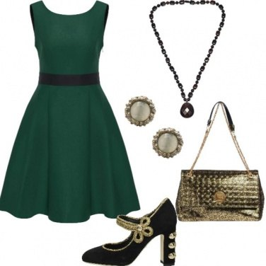 Outfit Verde Viva