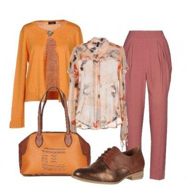 Outfit Le mie sfumature dell\'arancio