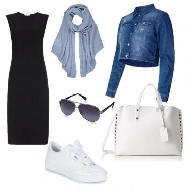 Outfit Black and white giovanile