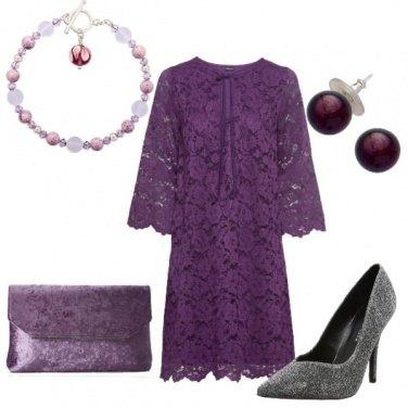 Outfit Viola d\'argento