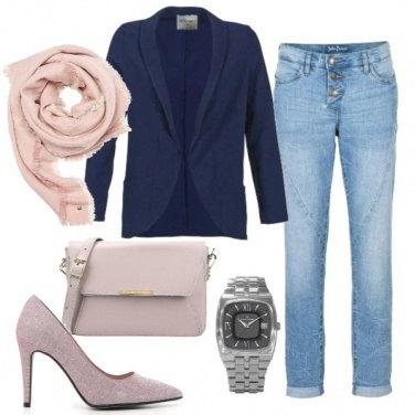 Outfit Dettagli in rosa