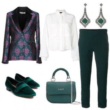 Outfit La giacca damascata