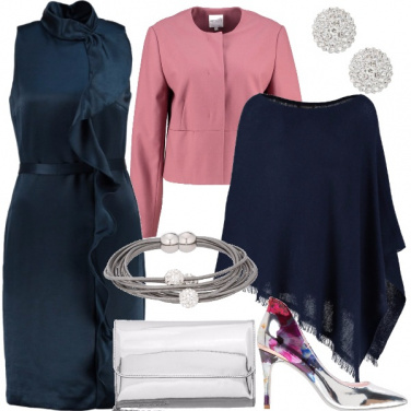Outfit Rouches chic