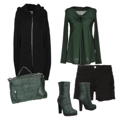 Outfit Verde opaco everyday