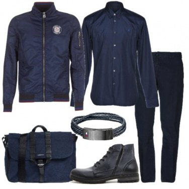 Outfit Solo blu