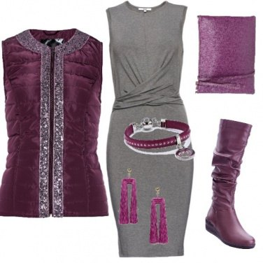 Outfit Purple basic