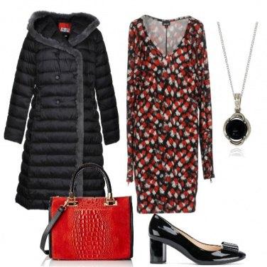 Outfit La borsetta rossa