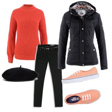 Outfit Energy style orange