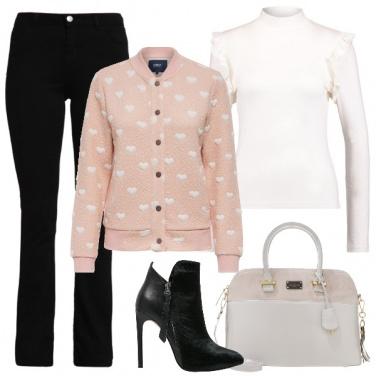 Outfit Un bon ton romantico