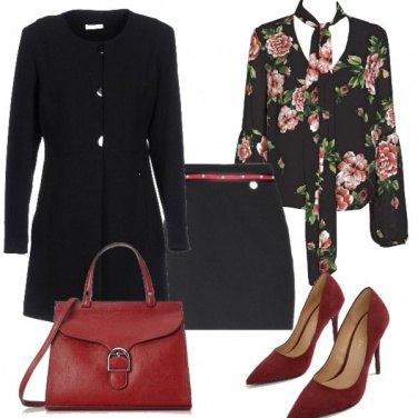 Outfit Cerimonia con i fiori